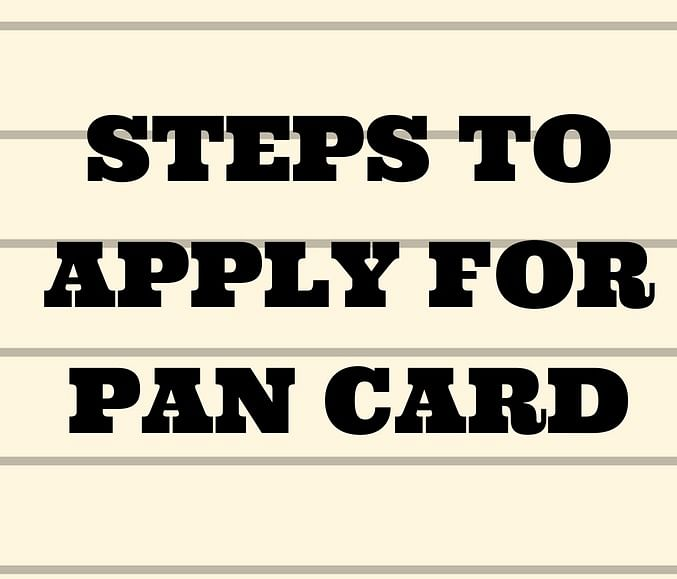 PAN Card: How To Apply For PAN Card And Know Your PAN?