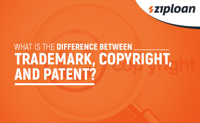 difference between trademark, copyright, and trademark