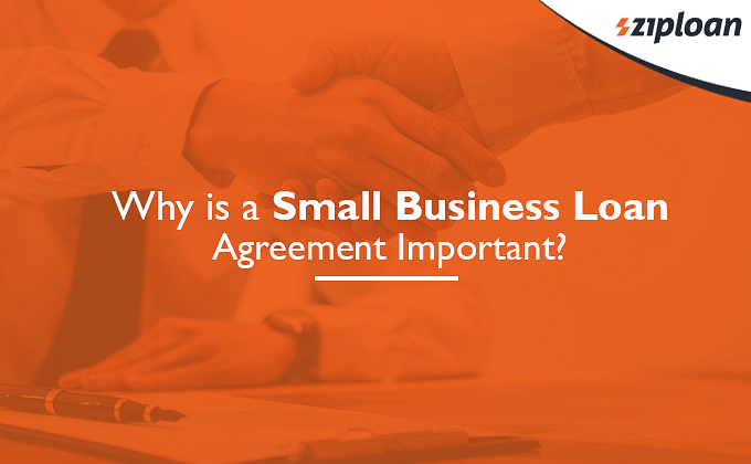 small business loan agreement