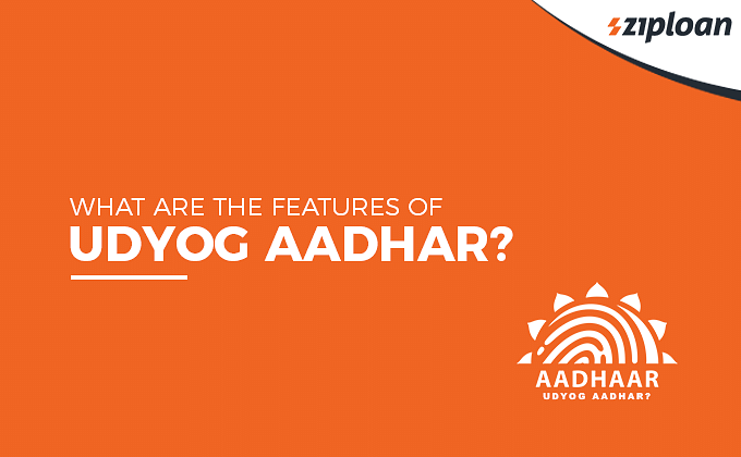 Features of Udyog Aadhar registration