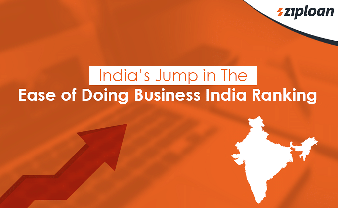 India's Jump in The Ease of Doing Business India Ranking