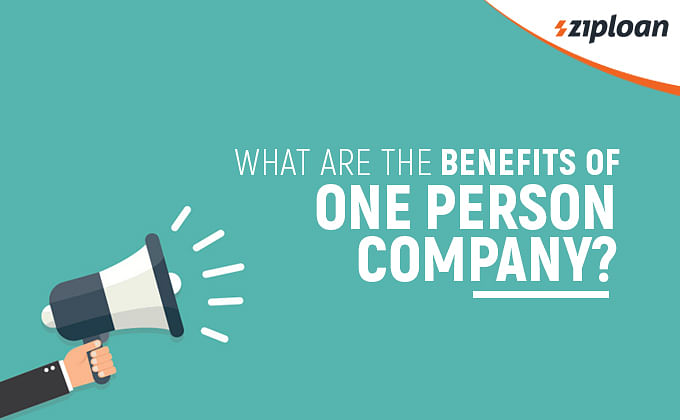 benefits of One person company