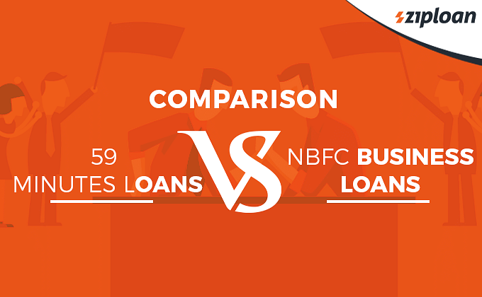 MSME loan in 59 Minutes vs NBFC Business Loans