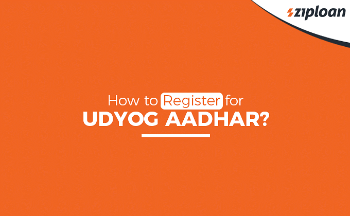 register for udyog aadhar