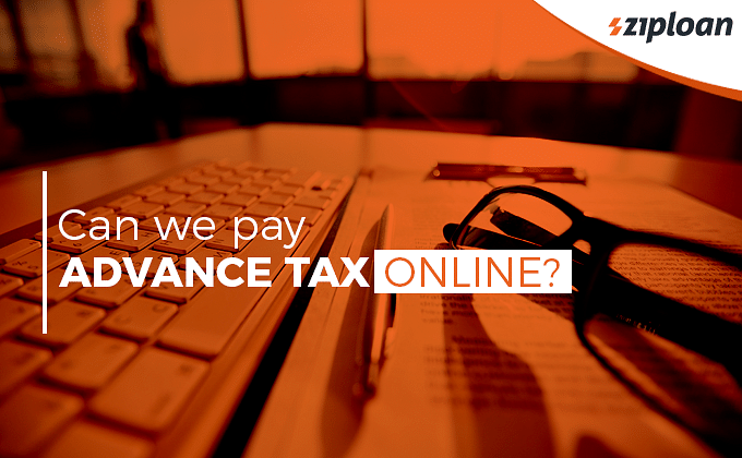 Can we pay advance tax online?