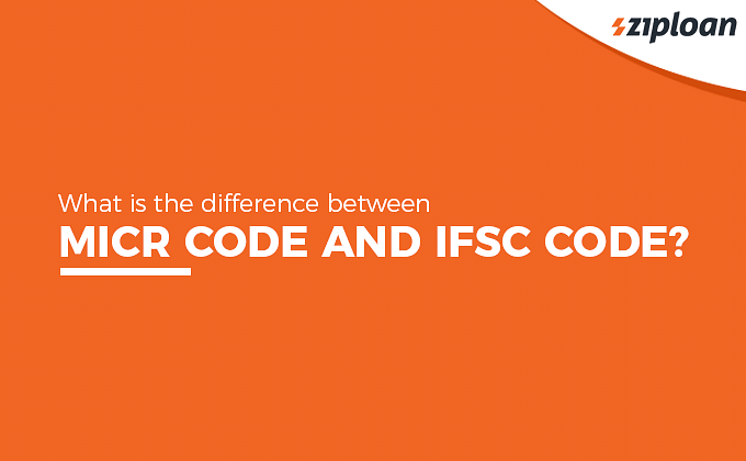 difference between MICR code and IFSC code?