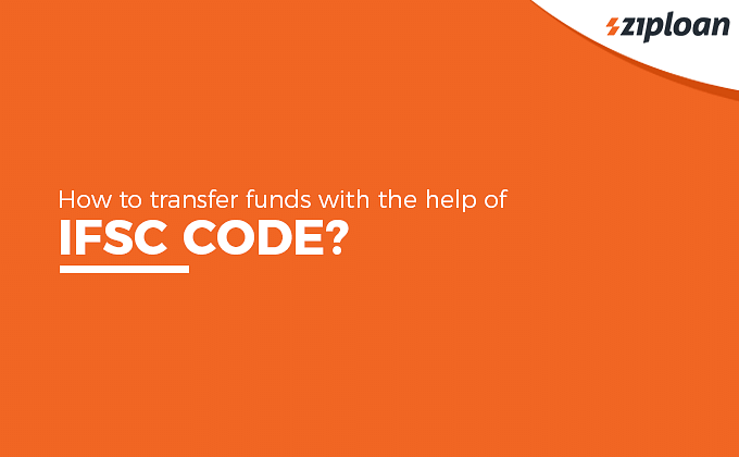 transfer funds with the help of IFSC code