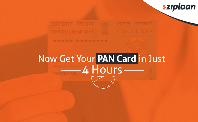 PAN card in 4 hours