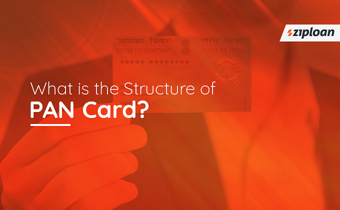 Structure of PAN Card