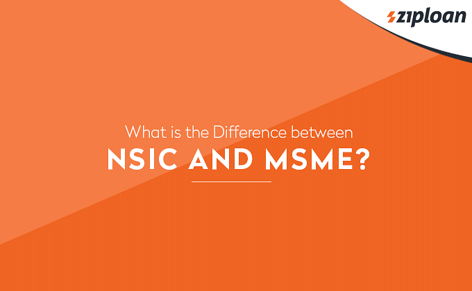 Difference between NSIC and MSME