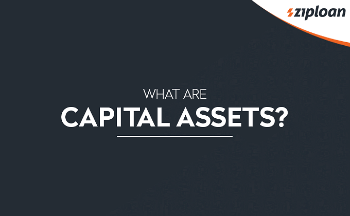 Capital Assets meaning