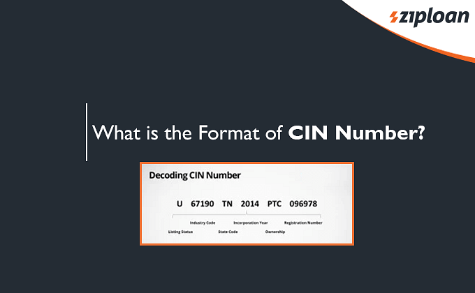 Format of CIN Number