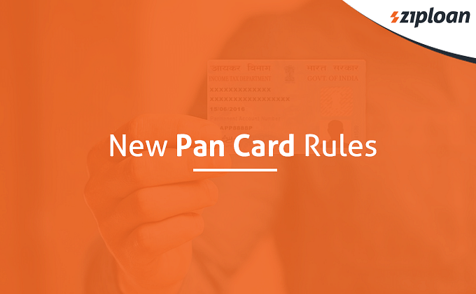 PAN card rules