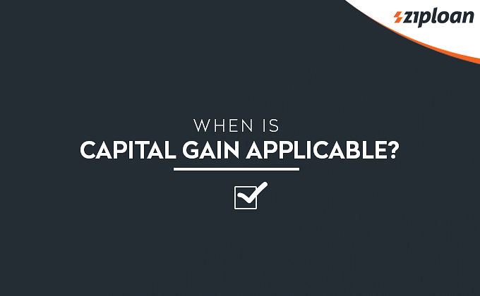 Capital Gain applicability