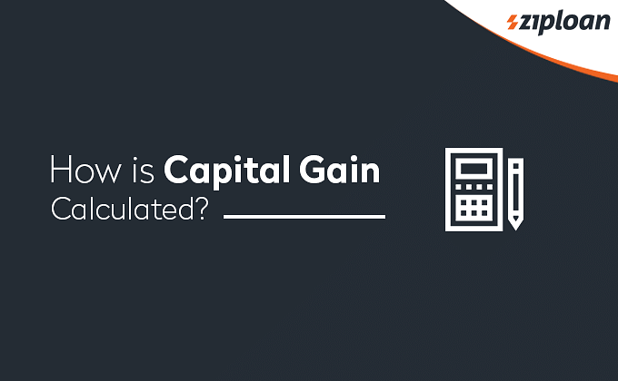 Capital Gain Calculated