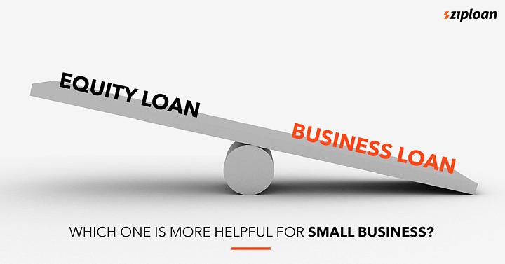 equity loan vs business loan