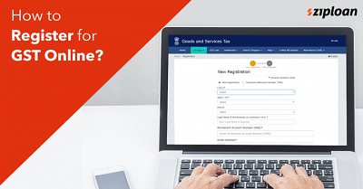how to register gst online