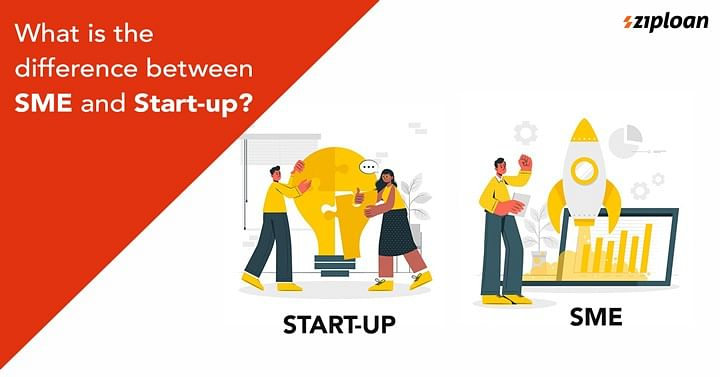 difference between sme and startup