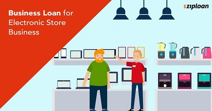 business loan for electronic shop